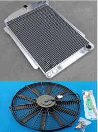 aliexpress com buy aluminum alloy radiator u0026fan 56mm for chevy