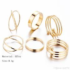 gold metal rings images Latest gold ring designs x shaped knuckle ring jewelry for men jpg