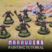 mengel miniatures tutorial blood bowl marauders team