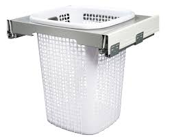 Stainless Steel Laundry Hamper by Laundry Hamper Cabinet Pull Out Best Home Furniture Decoration