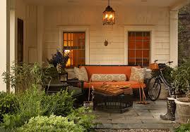 black wicker furniture cottage deck patio jean randazzo