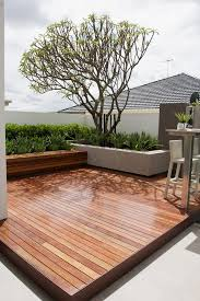 Deck Planters And Benches - deck planters deck contemporary with built in bench concrete
