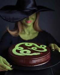 Spooky Halloween Cake Halloween Cakes And Dessert Recipes Martha Stewart