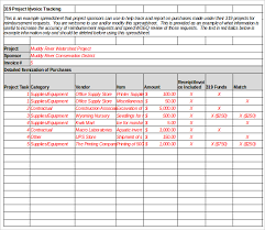 Tracking Spreadsheet Template Excel Invoice Tracking Template Excel Invoice Exle