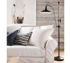 glendale pulley task floor lamp pottery barn