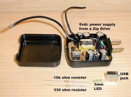 diy wall wart usb power supply hacked gadgets u2013 diy tech blog