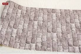 wallpaper red brick thick cushion textured vinyl brick wallpaper