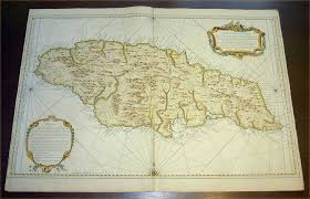 Caribbean Sea Map 1758 Bellin Very Large Antique Map Sea Chart Of The Caribbean