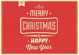 retro christmas vector background download free vector art