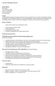 sample resume for a call center agent 4 skills necessary for a