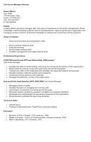 Call Center Agent Resume Sample Sample Resume For A Call Center Agent Call Center Representative