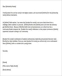 sample character reference letter student 7 character reference