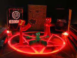 satanic rites of gumby photo print zoom