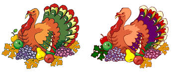 thanksgiving find the differences tom turkey