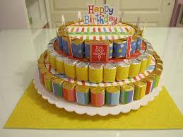 birthday nugget cake