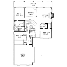 european style house plan 3 beds 2 50 baths 1700 sq ft plan 15 140