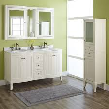 bathroom espresso ikea double vanity with glossy sink and silver