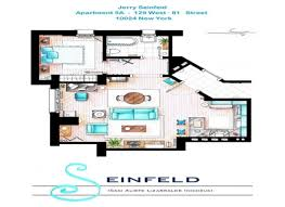 seinfeld apartment floor plan fantasy floorplans tv show sets touch of modern seinfeld