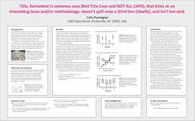 how to write a good introduction for a research paper designing conference posters colin purrington advice on designing scientific posters click on image to view larger version that has legible tips