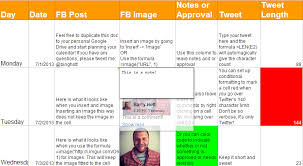 how to plan your content calendar like a pro with free template