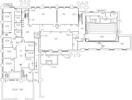 Hamilton Ontario Map Mcmaster University Hamilton Hall First Floor Map