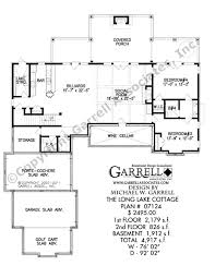 Country Cottage House Plans With Porches Long Lake Cottage House Plan Country Farmhouse Southern