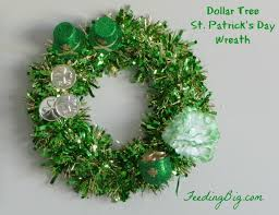 s day wreaths st s day dollar tree wreaths wreaths saints and decorating