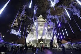 christmas lights to hang on outside tree it s christmas time celebrations kick off around the world as