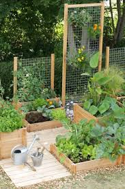 cheap vegetable garden fence designs with wood beams fencing for