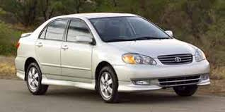 2004 toyota corolla xrs 2004 toyota corolla review ratings specs prices and photos