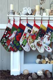 Homemade Christmas Stockings by 25 Unique Christmas Stockings Best Cute Diy Ideas For Holiday