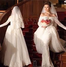 where to buy wedding dresses usa sleeve mermaid detachable wedding dress removable skirt