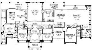 Floor Plans With Porte Cochere Presidential Estate Porte Cochere House Plan Luxury House