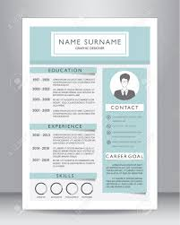 Resume Definition Job by Resume Cv Le Graphique Myprettycv Cv Professional Resume Layout
