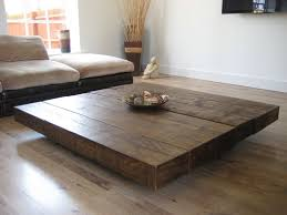 rustic square coffee table the beautiful pedestal coffee table from the cool wood company
