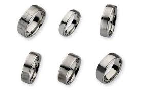 mens stainless steel wedding bands men s stainless steel rings are unique