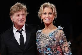 does robert redford wear a hair piece robert redford and jane fonda keep it classic at the venice film