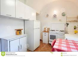 Simple Kitchen Interior Simple Kitchen Interior In Old House Stock Photo Image 45056428