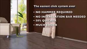Easy Click Laminate Flooring Godfrey Hirst Laminate Easy Installation Youtube