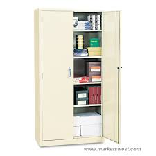 Heavy Duty Storage Cabinets Alera Heavy Duty Welded Metal Storage Cabinet 72x36x18
