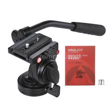 dslr camera video photography fluid drag hydraulic tripod head for