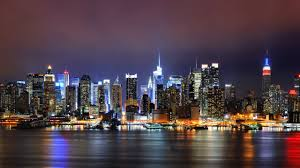 nyc skyline at night 3468