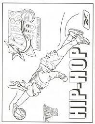 nba com 03 kids hip hop coloring page 12