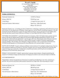 Usajobs Example Resume by 4 Usa Jobs Resume Examples Hr Cover Letter