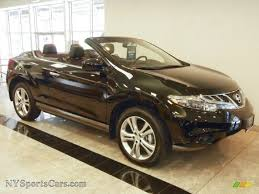 nissan awd convertible 2011 nissan murano crosscabriolet awd in super black 003131