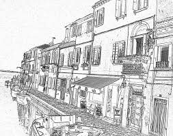 italy flag burano coloring 1 italian coloring pages free