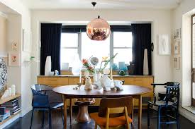modern dining table decor complete with bench and seating