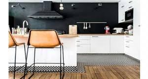 deco carrelage cuisine déco cuisine idée peinture carrelage couleur et meuble