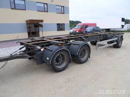 used krone happy trailer 3 axel bdf containerframe trailers year