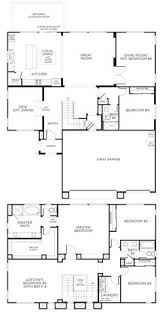 Two Storey Floor Plans Floor Plan 5 Bedrooms Single Story Five Bedroom Tudor Dream